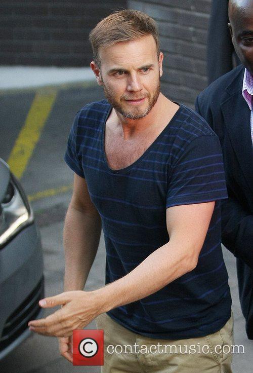 Gary Barlow Celebrities at the ITV studios London,...