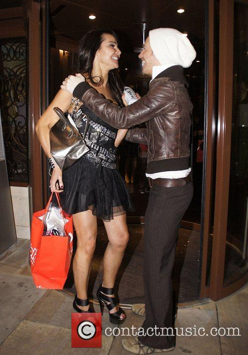 Lizzie Cundy ITV At The Movies Oscars Party...