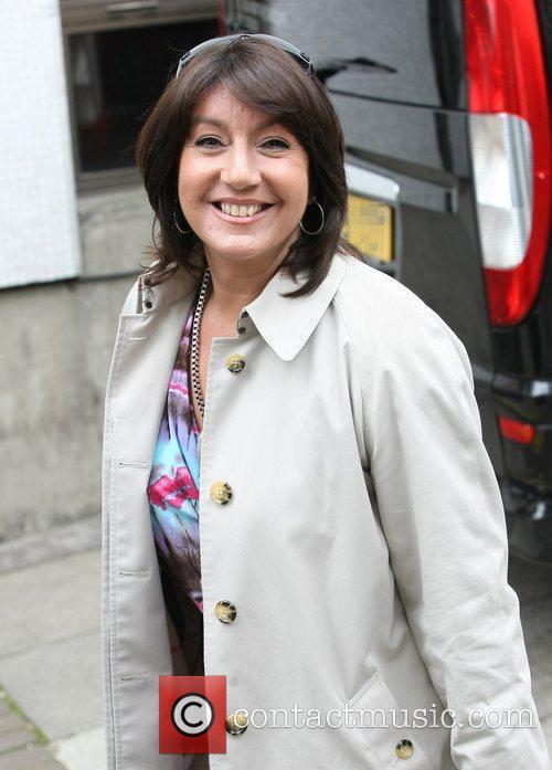 Jane McDonald outside the ITV television studios London,...