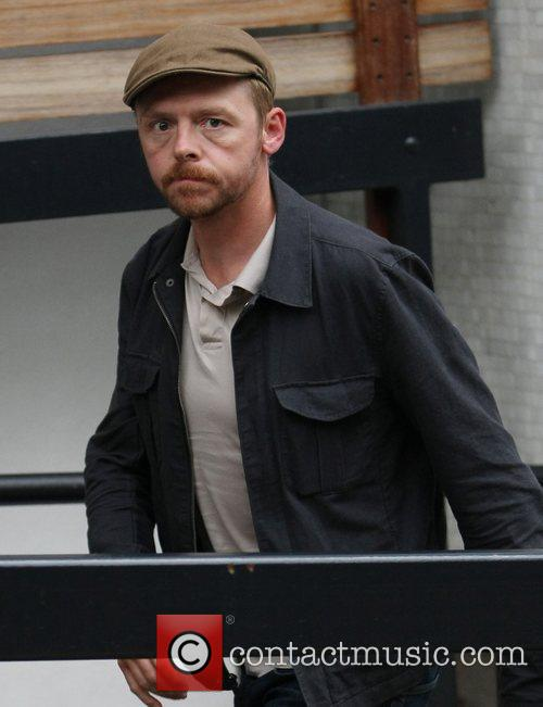 Simon Pegg and Itv Studios 1