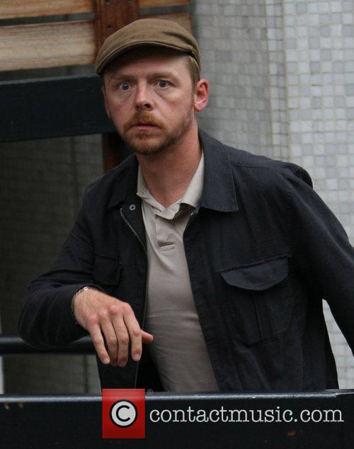Simon Pegg and Itv Studios 2