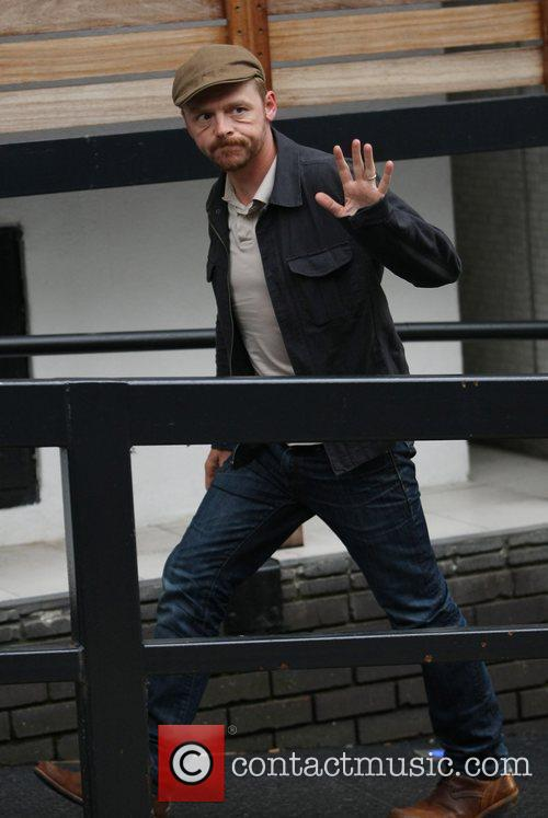 Simon Pegg and Itv Studios 5