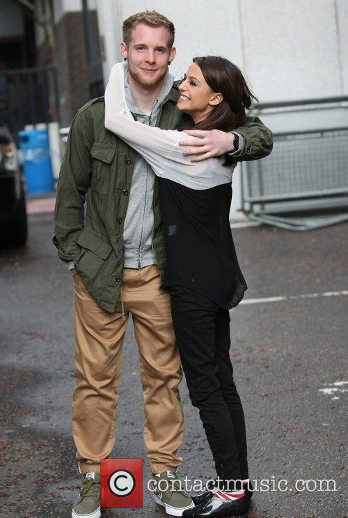 Cher Lloyd and Craig Monk  at the...