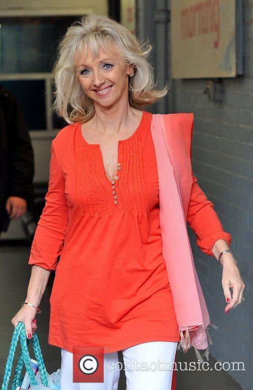 Debbie McGee at the ITV studios London, England