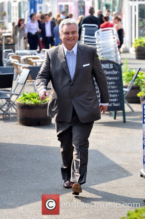 Eamonn Holmes at the ITV studios London, England