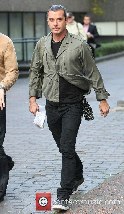 Gavin Rossdale outside the ITV studios London, England