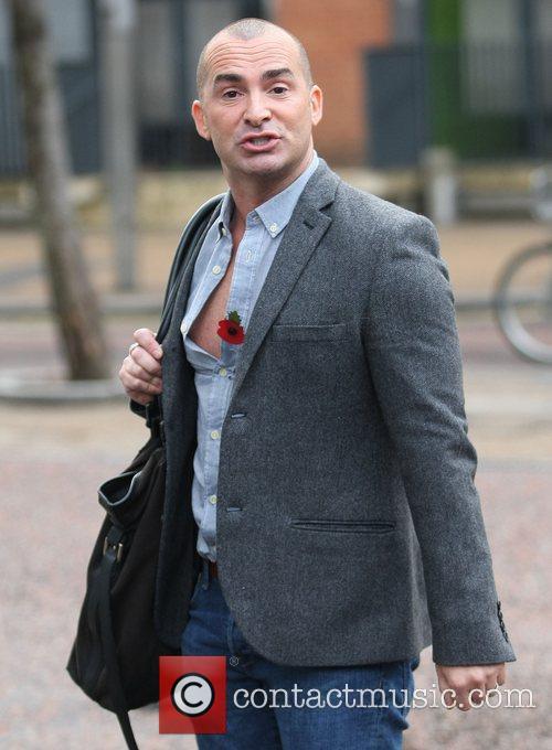 Louie Spence Celebrities at the ITV studios London,...