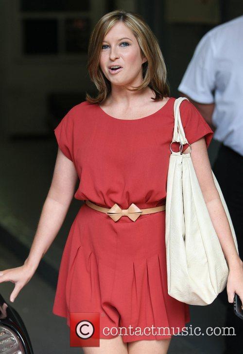Brooke Kinsella at the ITV studios London, England