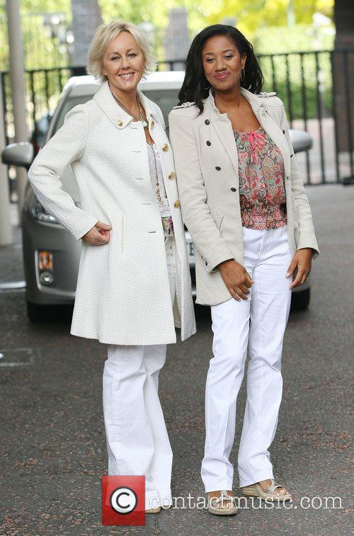 Helen DeMacque and Shirlie Holliman aka Pepsi and...
