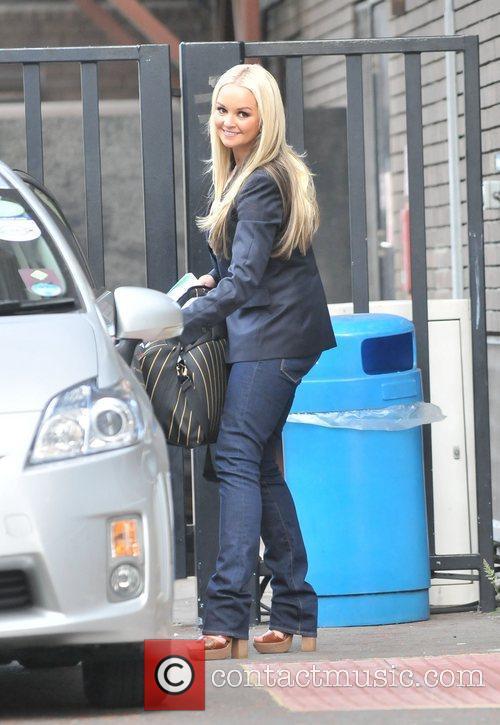 Jennifer Ellison  outside the ITV studios London,...