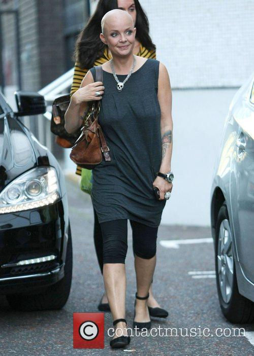 Gail Porter at the ITV studios London, England