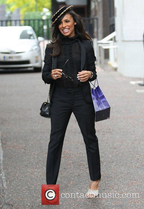 Melody Thornton at the ITV studios London, England