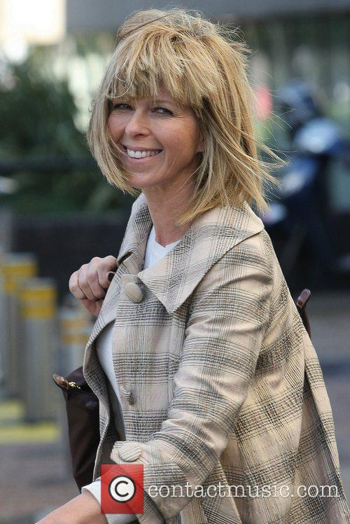 Kate Garraway outside the ITV studios London, England