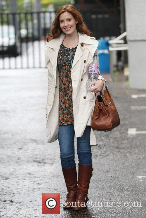 Amy Nuttall at the ITV studios London, England