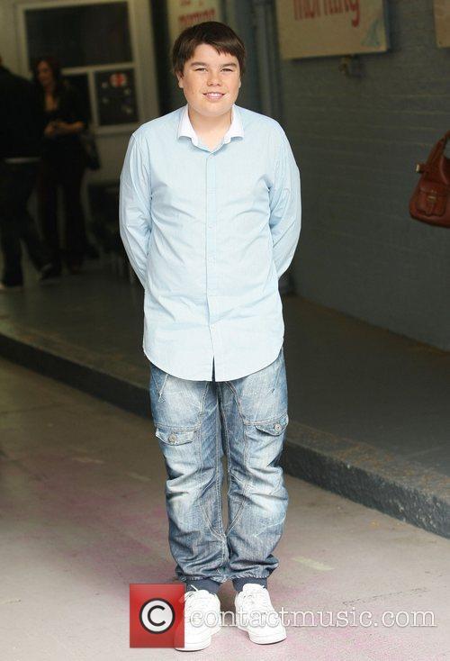 Luke Lucas at the ITV studios London, England