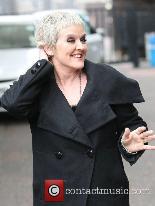Bernie Nolan at the ITV studios London, England