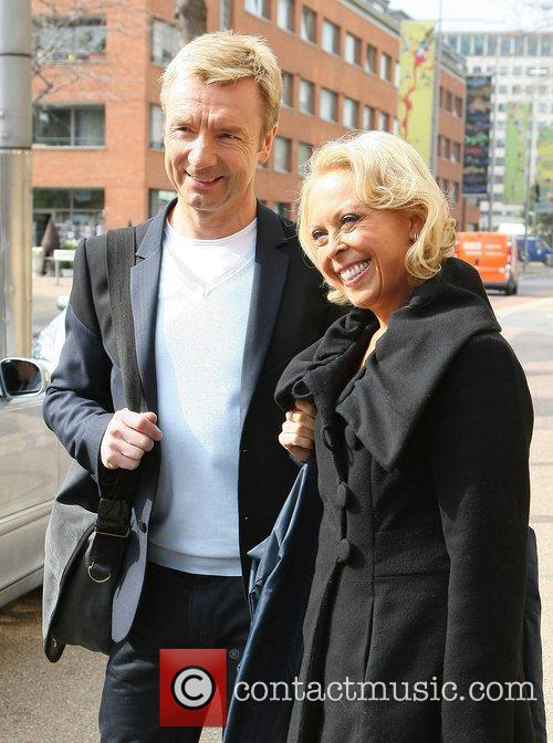 Jane Torvill and Christopher Dean at the ITV...
