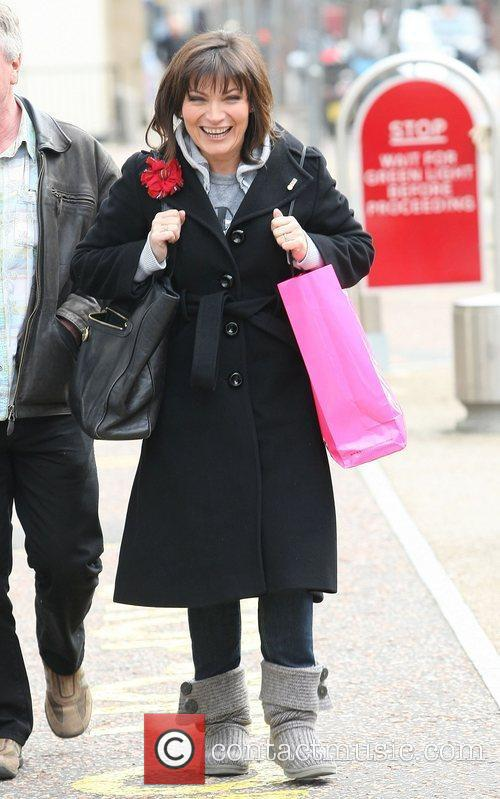 Lorraine Kelly at the ITV studios London, England