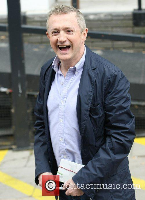 Louis Walsh at the ITV studios London, England
