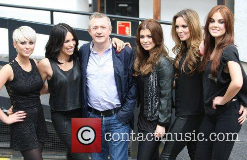 Louis Walsh and Wonderland at the ITV studios...