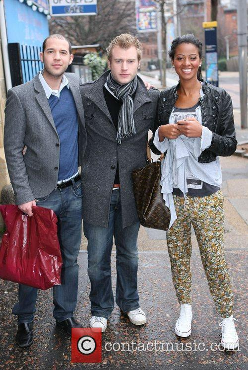 Jamie Lester, Chris Bates and Joanna Riley at...
