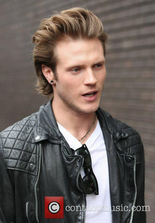 dougie poynter of mcfly outside the itv 3554898