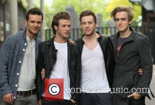 Harry Judd, Danny Jones, Dougie Poynter, Mcfly, Tom Fletcher and Itv Studios 4