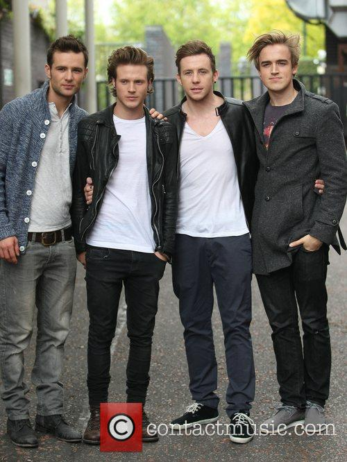 Harry Judd, Danny Jones, Dougie Poynter, Mcfly, Tom Fletcher and Itv Studios 1