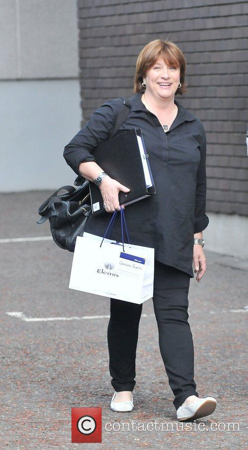 Caroline Quentin at the ITV studios London, England