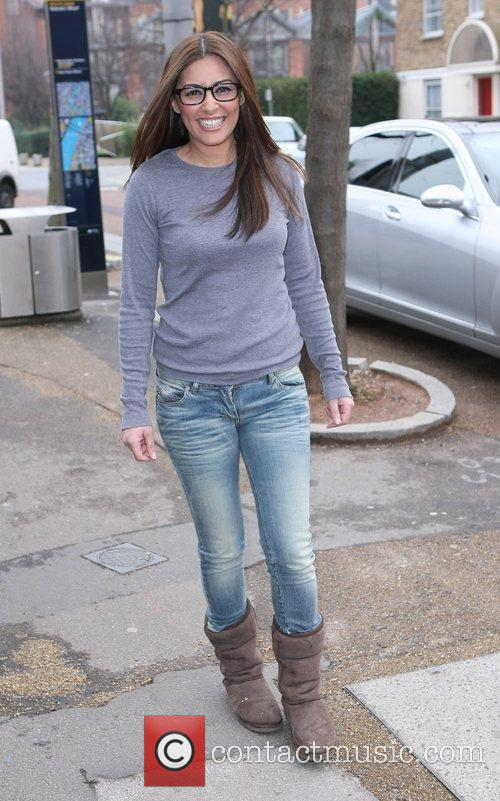 Laila Rouass at the ITV studios London, England