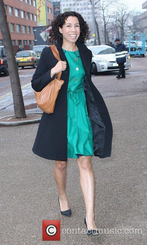 Margherita Taylor at the ITV studios London, England