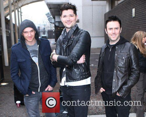 The Script at the ITV studios London, England