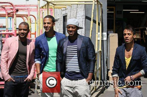 JB Gill, Marvin Humes, Oritse Williams and Aston...