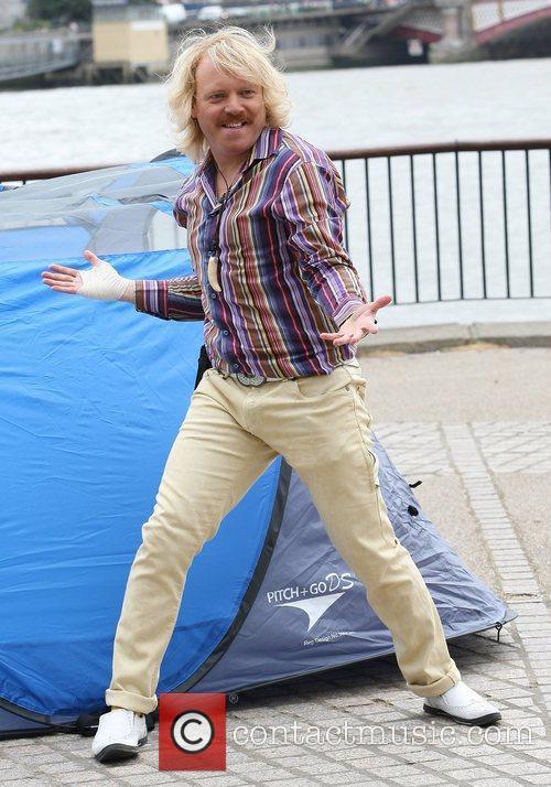 Keith Lemon (real name Leigh Francis) celebrities outside...