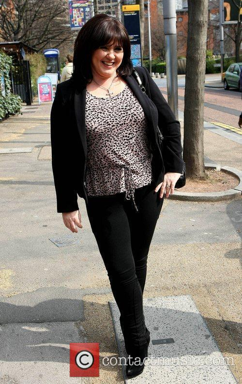 Coleen Nolan Celebrities at the ITV studios London,...