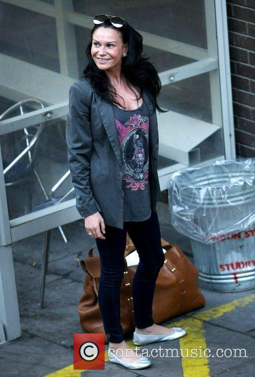 Lucy Pargeter at the ITV studios London, England