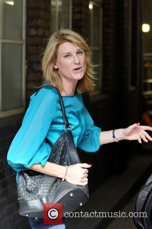 Sally Bercow arriving at the ITV Studios London,...