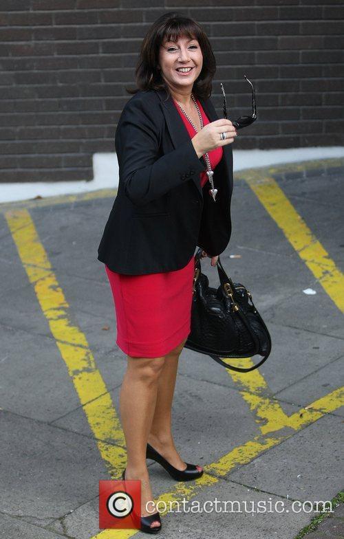 Jane McDonald at the ITV studios  London,...