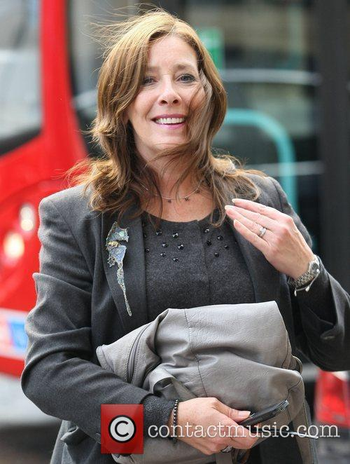 Phyllis Logan and Itv Studios 1