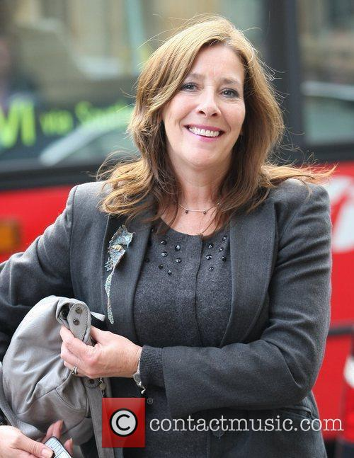 Phyllis Logan and Itv Studios 2