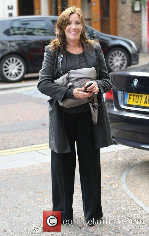 Phyllis Logan and Itv Studios 3