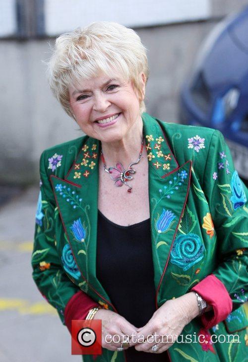 Gloria Hunniford outside the ITV studios  London,...