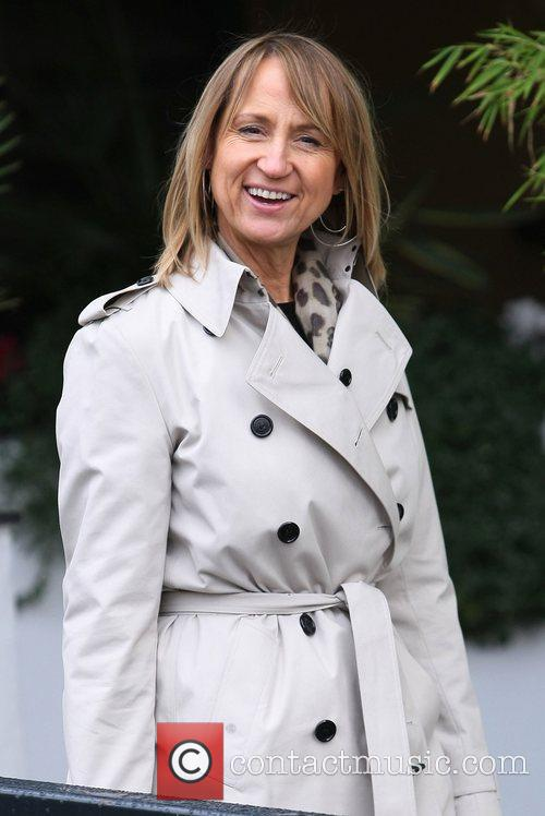 Carol McGiffin at the ITV studios London, England