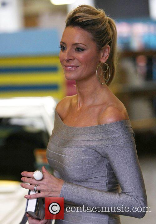 Tess Daly at the ITV studios London, England