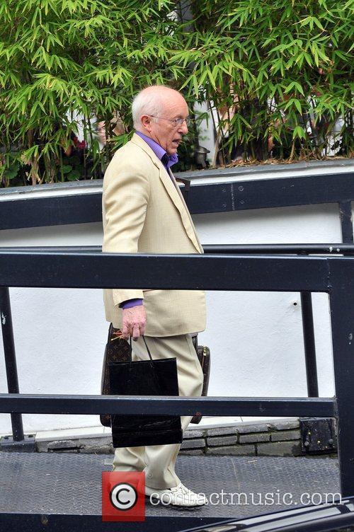 Paul Daniels outside the ITV studios London, England