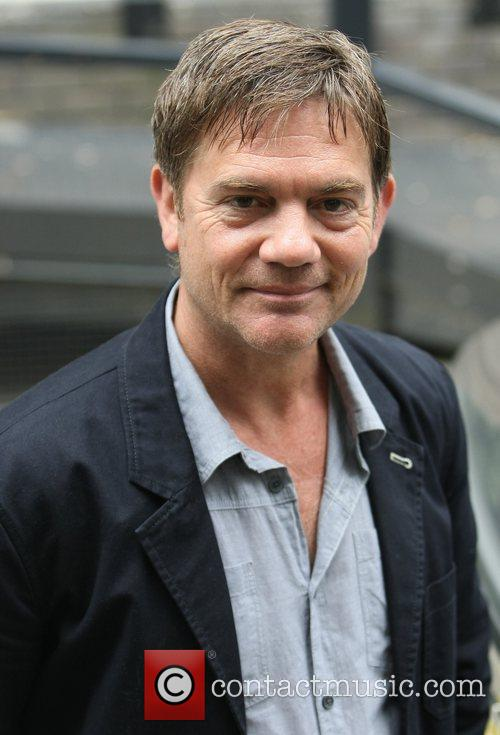 John Michie Celebrities outside the ITV television studios...