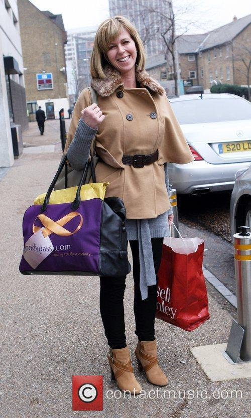 Kate Garraway  Celebrities outside the ITV television...