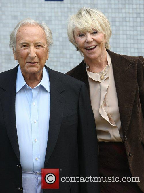 Michael Winner and wife Geraldine