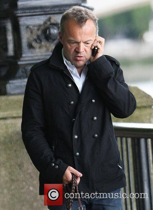 Graham Norton  outside the ITV Studios London,...