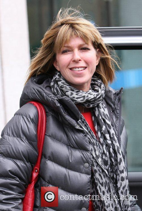 Kate Garraway leaves the ITV studios London, England